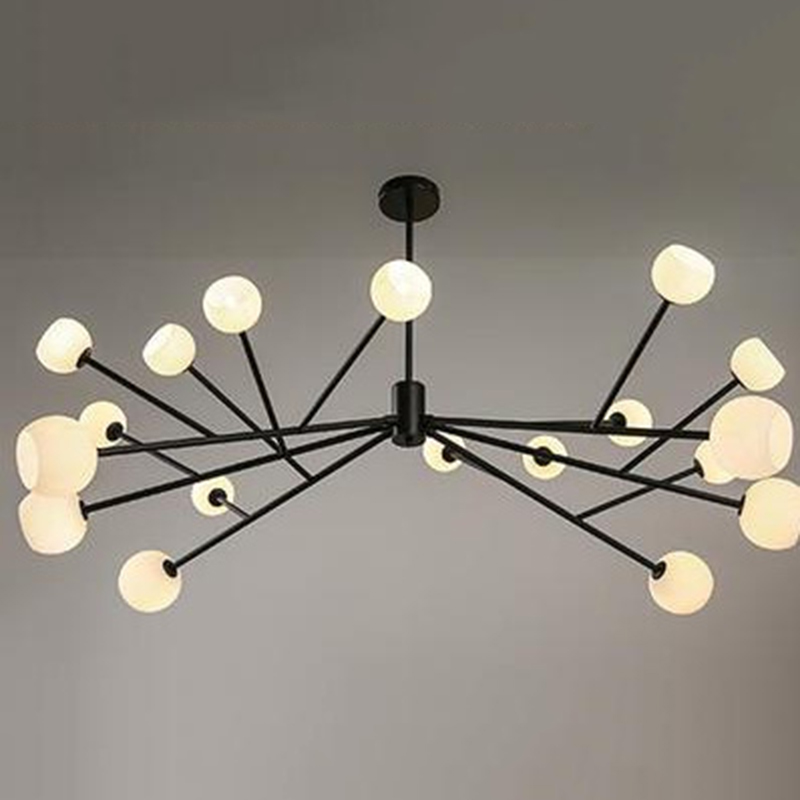 Simple Style Chandeliers Lamp Household Lighting Modern Branch Chandelier