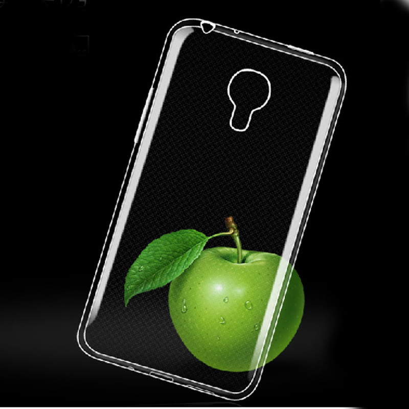 Transparent Clear Soft Silicon TPU Protective Case Cover For Samsung