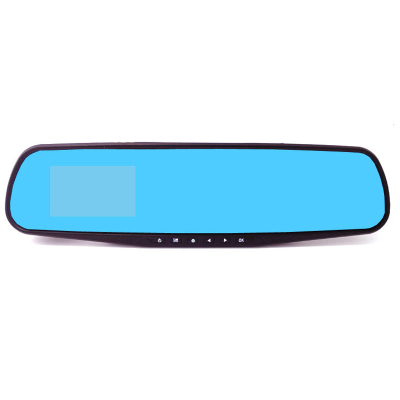 Car DVR Camera 2.8 Inch HD 1080P Rearview Mirror Tachograph Universal Portable Drive Recorder Car-Styling