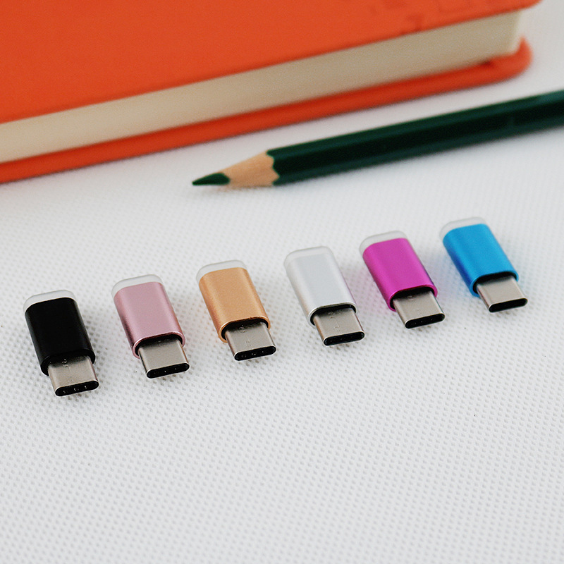 USB 2.0 Micro To Type C USB Converter Adapter For OTG Feature Phone