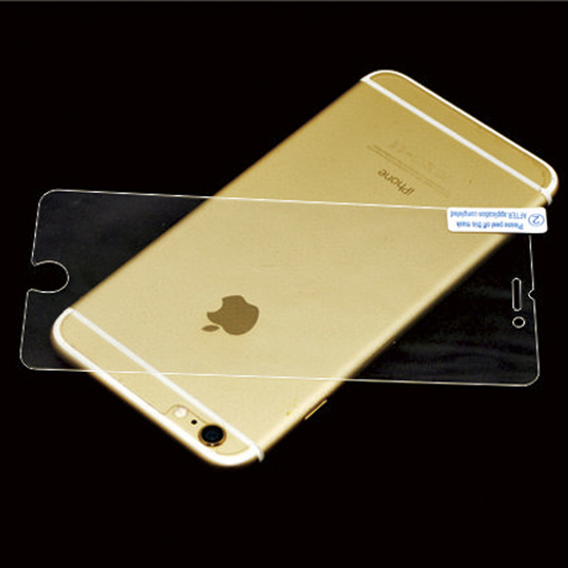 Iphone Tempered Glass Back Cover Protective Film Amazing Anti-Explosion 9H 0.25mm Tempered Glass