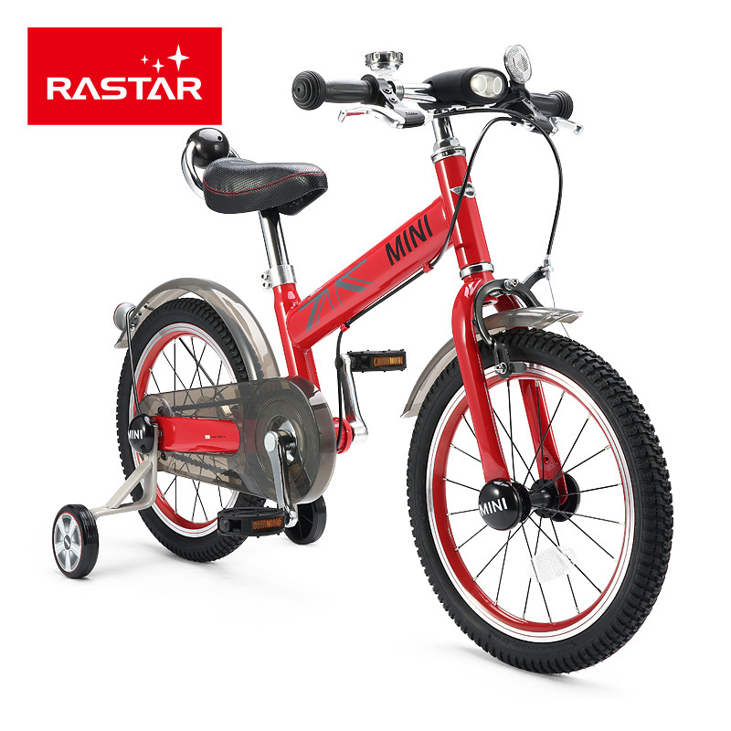 Rastar RSZ1602 16 Inch Kids Pedal Bike BMW Cooper Stroller Children\'s Bicycle
