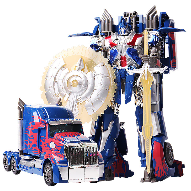 Transformation 4 W8005 Alloy Version Optimus Prime Brinquedos Robots Action Figures Classic Toys
