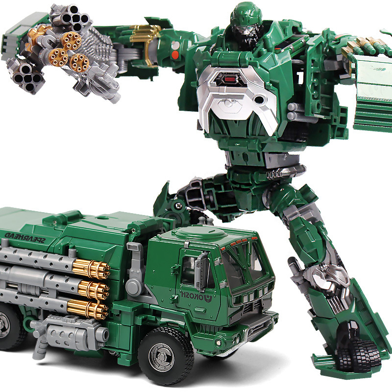 Transformation 4 Green Detective Alloy Optimus Prime Brinquedos Robots Action Figures Classic Toys