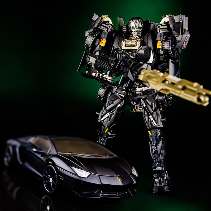 KUBIANBAO 33008 Transformation Decepticon Dark Black Lockdown Car Models Alloy Boy Robot Toys