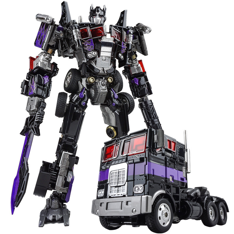 W8035 Alloy Vehicle Transformation Commander Darkness MP01b Action Figure Robot Toy