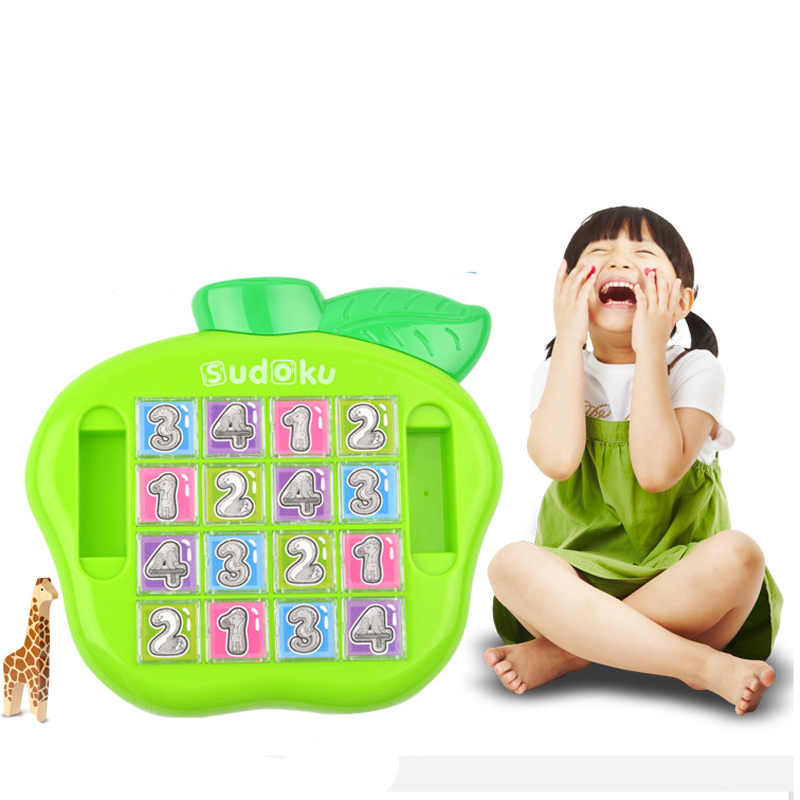 First Classroom Sudoku Number Game Children'S Math Learning Educational Game, Table Board Number Puzzle Game For Kid Puzzle To
