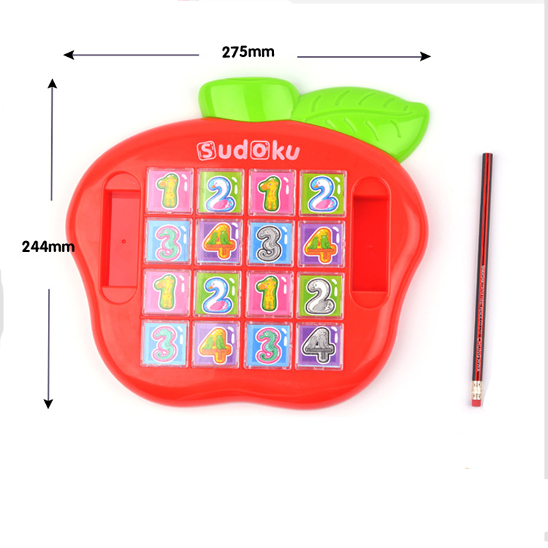 First Classroom Sudoku Number Game Children\'S Math Learning Educational Game, Table Board Number Puzzle Game For Kid Puzzle To