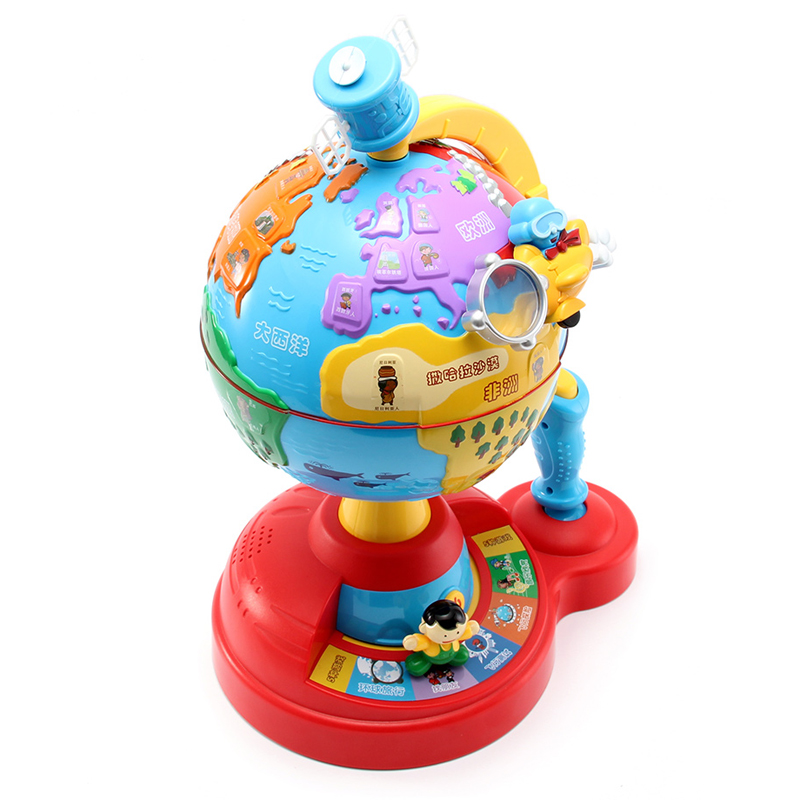 MZ World Globe Geography Learning Toys Puzzle Early Childhood Education