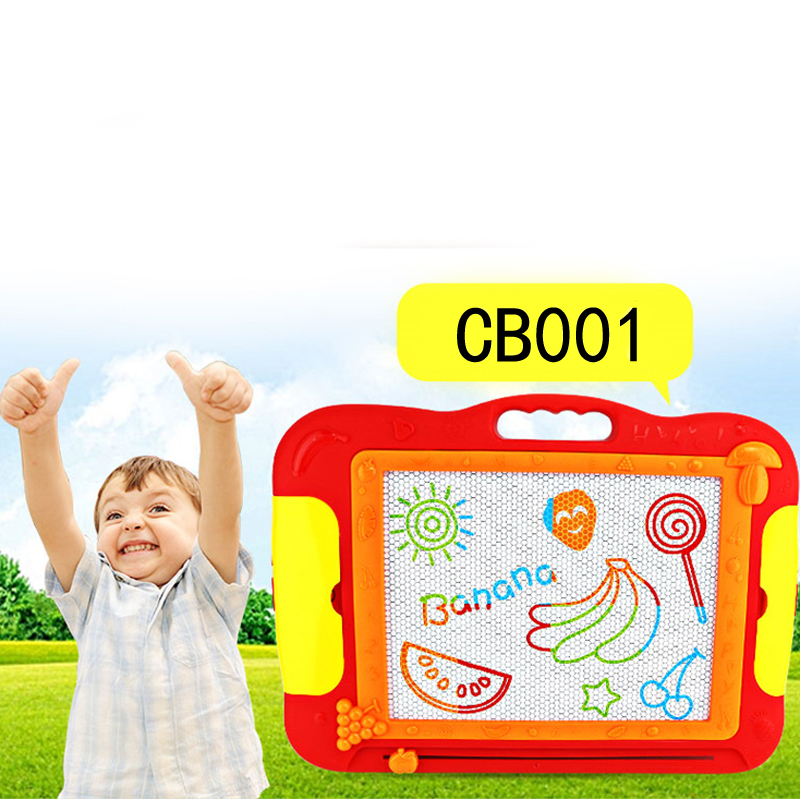 CB001 Baby Magnetic Drawing Writing Board Plastic Doodle Children\'s Toy