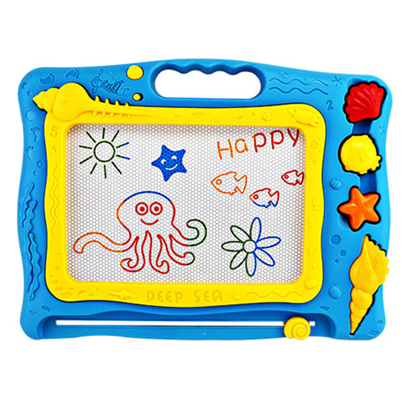 CB002 Baby Big Ocean Magnetic Drawing Writing Board Plastic Doodle Children's Toy