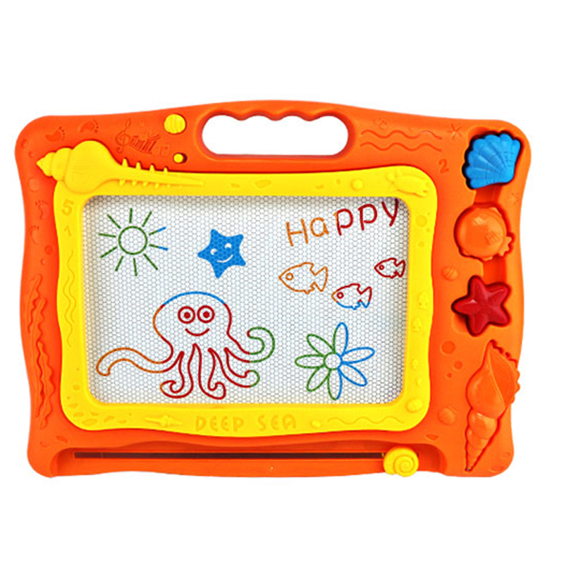 CB002 Baby Big Ocean Magnetic Drawing Writing Board Plastic Doodle Children\'s Toy