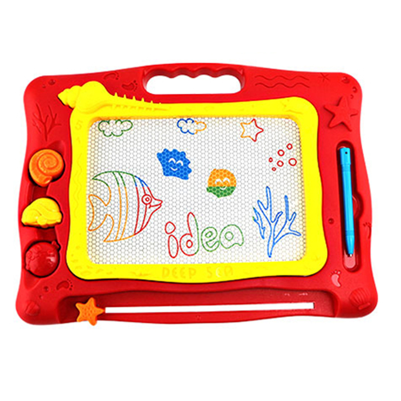 CB003 Baby Small Ocean Magnetic Drawing Writing Board Plastic Doodle Children's Toy