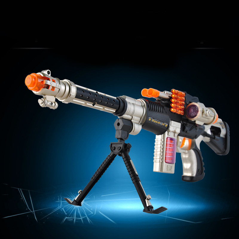 DF-14218B Peace Mission Of The Fantasy Fighters Laser Infrared Electric Toy Gun