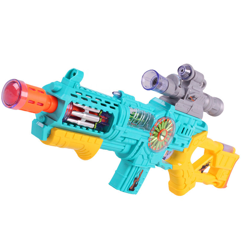 DF-17218A Super Battleship Series Kids Toys Projection Guns