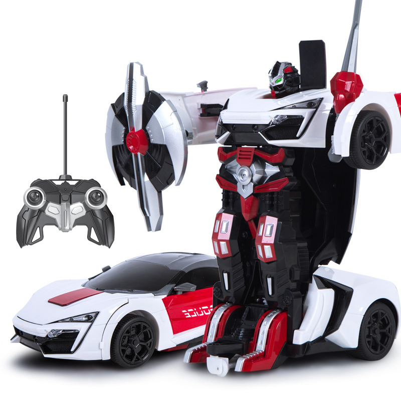 MZ 1:14 2317P Lykan Hypersport RC Deformation Robot 2.4G Smart Remote Control