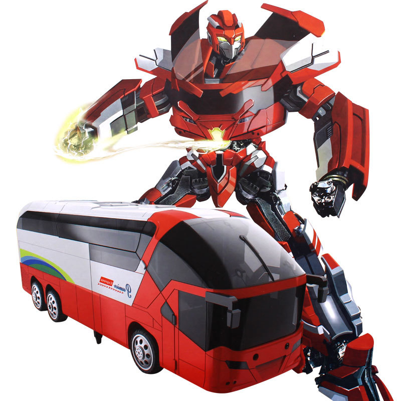 MZ 1:10 2372X Bus RC Deformation Robot 2.4G Smart Remote Control