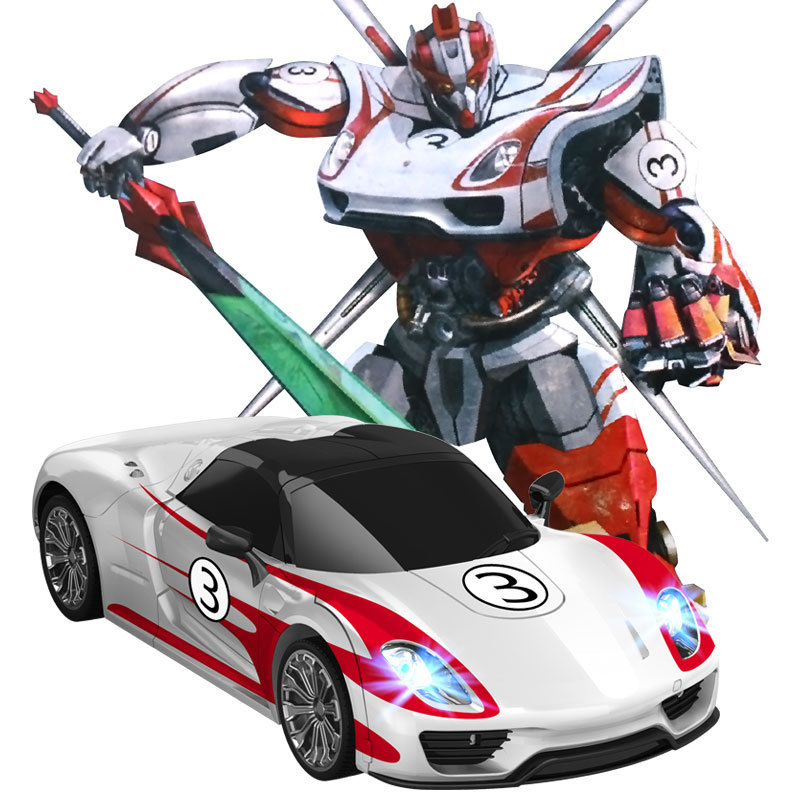 MZ 1:14 2337P Porsche RC One Key Deformation Robot For Kid