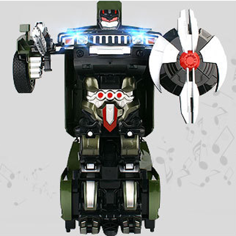 MZ 1:14 2323P Hummer Fight RC Robot Electric Car Models Action Toy