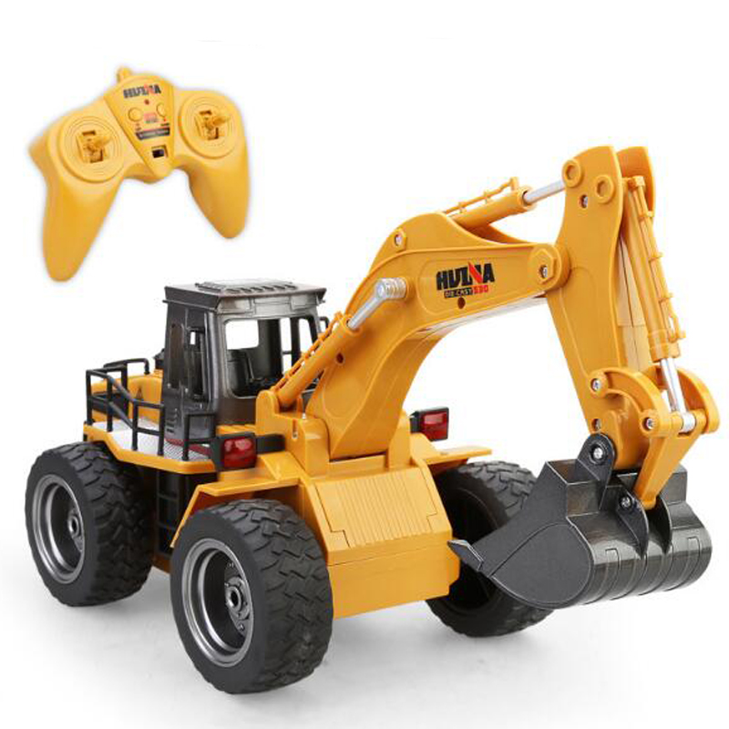 HUINA 530 RC Metal Excavator 6 Channel With 2.4G Smart Remote Control