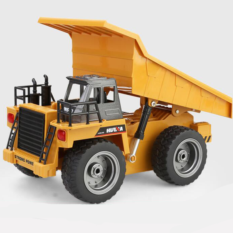 HUINA 540 RC Alloy Dumpers 6 Channel RC Engineering Vehicle Model Kid Toy