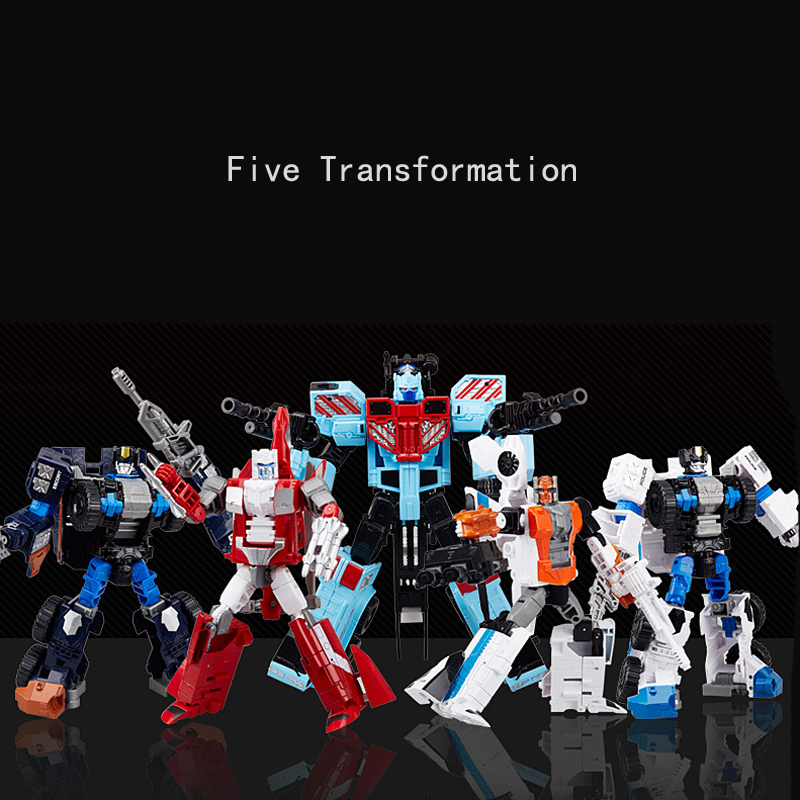 T-WARRIOR IDW Combination Transformation Alloy Metal Deformation Action Figure Robot Toys