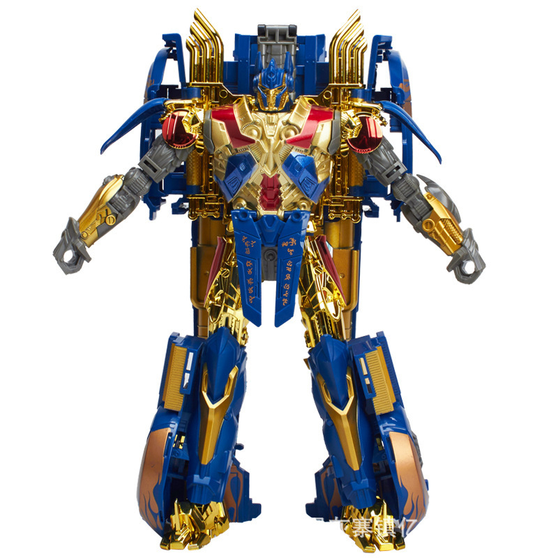 Transformation W8006 Gold Version Optimus Prime Deformation Robots Action Figures Toys