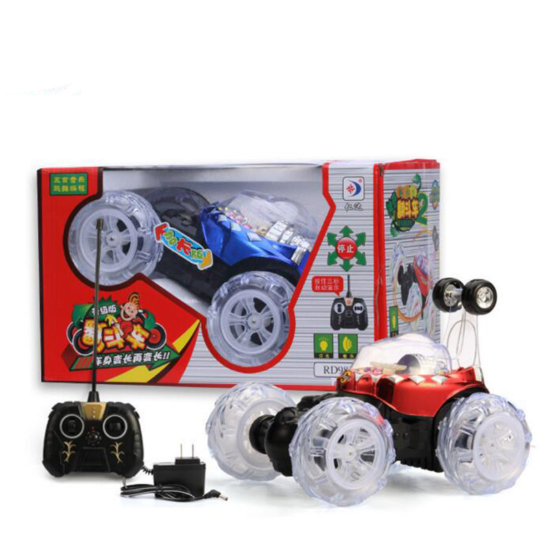 Small Size Children Electric Plastic Car Music Light Car Toy