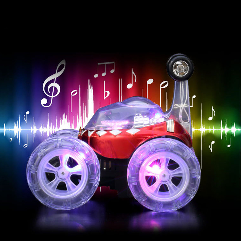 Stunt Car Children Electric Plastic Dancing Flip RC Car