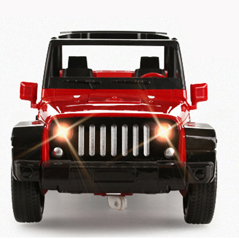 RD355 RC Robot Off-Road Wrangler Transformer Remote Control Jeep