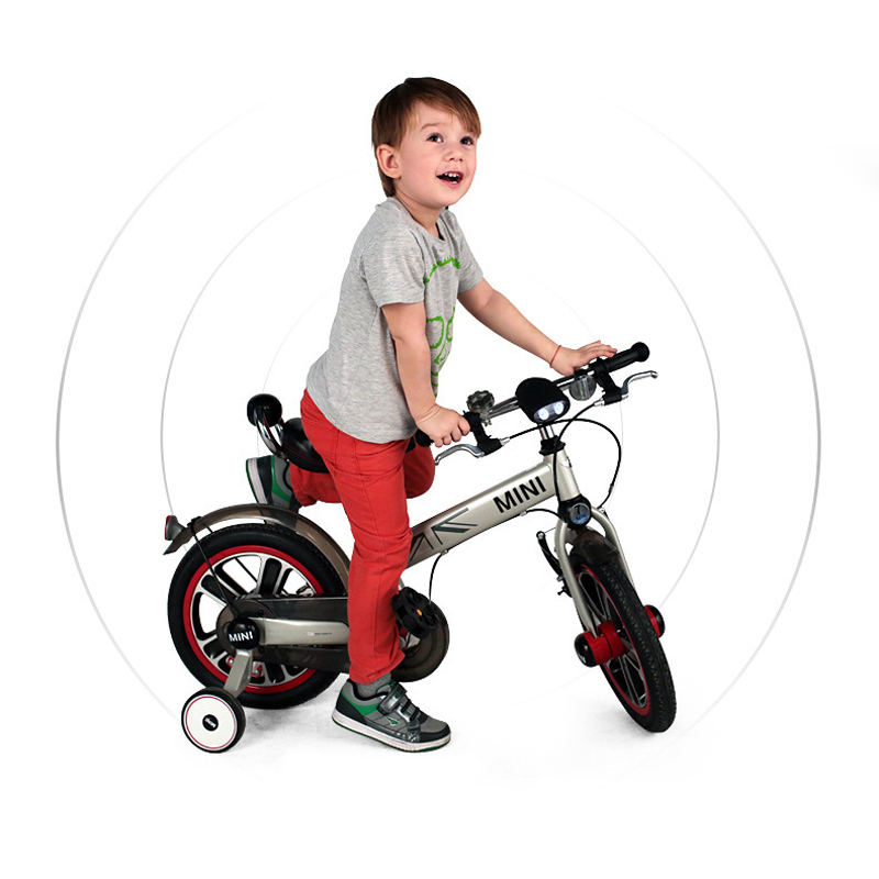 Rastar BMW MINI 14 Inches Children Bicycle with Auxiliary wheel