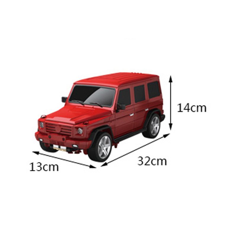 MZ 1:14 Mercedes-Benz Second Generation RC Transformation Alloy Metal Deformation Action Figure Toys