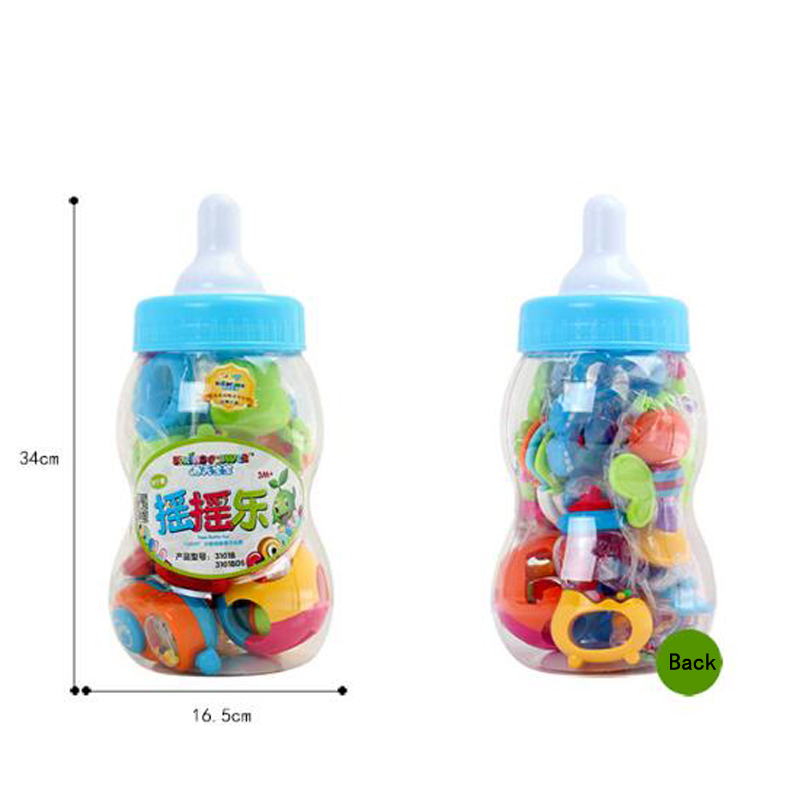 MZ 3101B 10 Pcs Of Rattles Children Early Childhood Education Toys