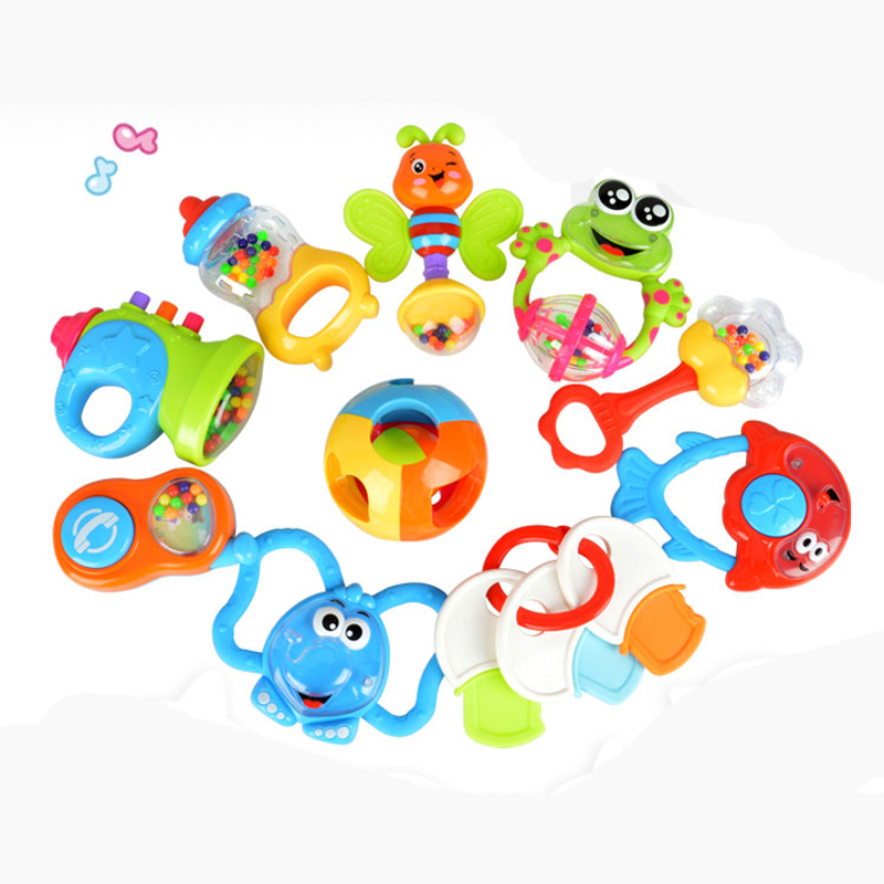 MZ 3201DS 6 Pcs Of High Temperature Rattles Children Early Childhood Education Toys