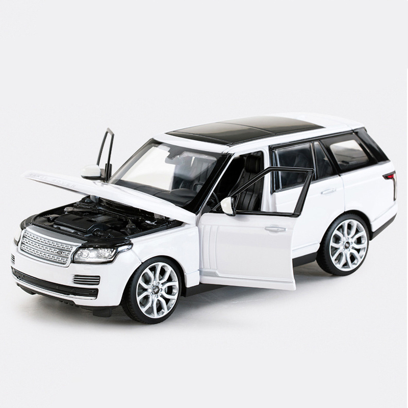 Rastar 1:24 Land Rover Range Rover Alloy Simulation Car Models Toys For Children