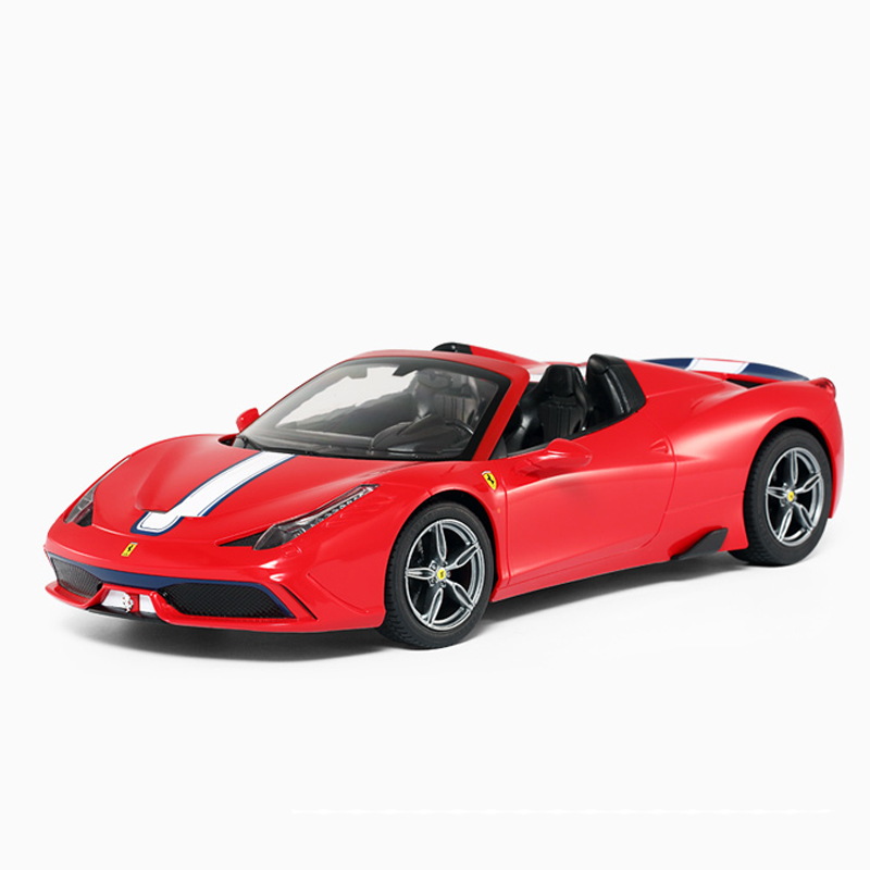 Rastar 1:14 Ferrari458 Special A Roadster Alloy Simulation RC Car Models Toys For Children