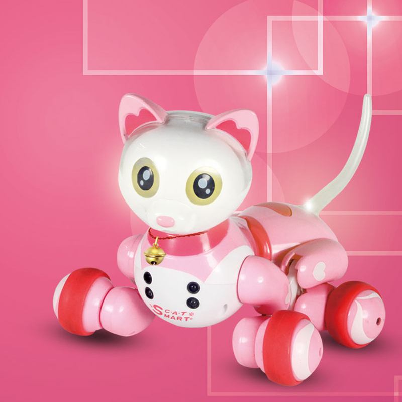 SF Intelligent Machine Cat Electric Multi - Function Voice Dialogue Toys