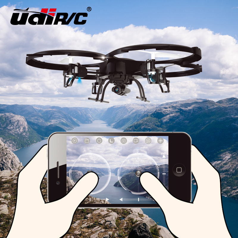 YD U919A-WIFI Aerial Photography Drones With Camera HD Flying Helicopter Rc Dron 4 Axis Gyro