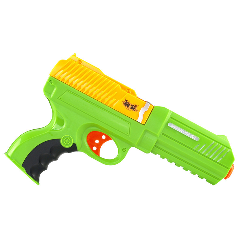 HQ992-1 Children Crystal bullet Toy Gun Plastic Interactive Toy Guns