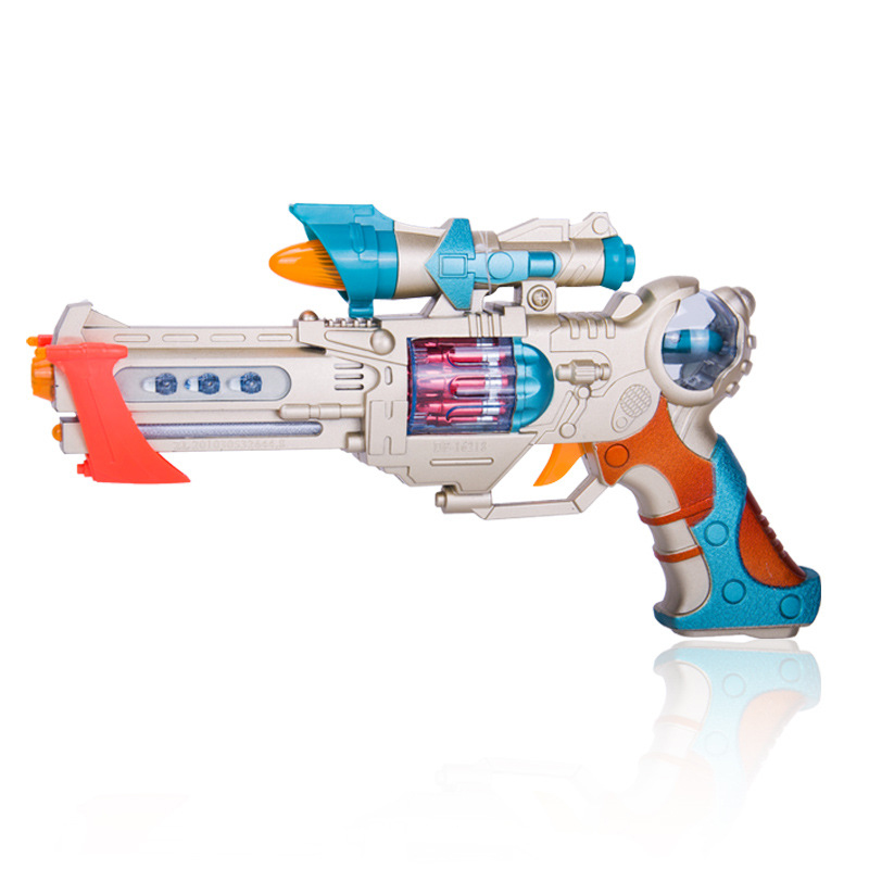 DF-16218B  Lighting Infrared Electron Gun Plastic Interactive Toy Guns