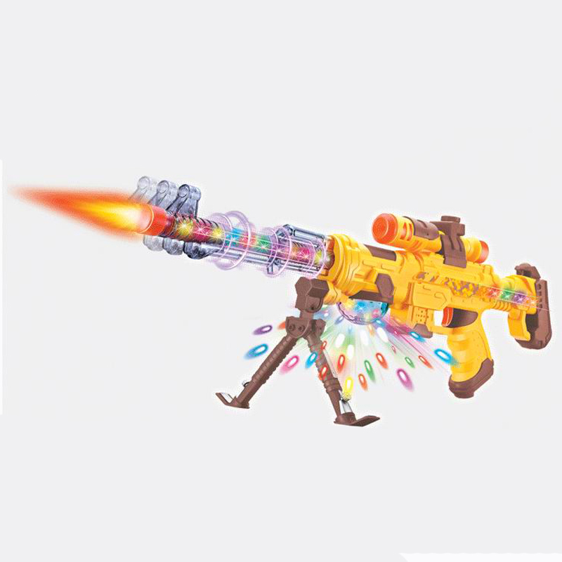 DF-24218B Laser infrared Electron Gun Plastic Interactive Toy Guns