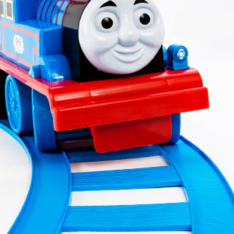 YC-2010A Thomas Train Puzzle Toy Cars And Locomotives With Circle Track