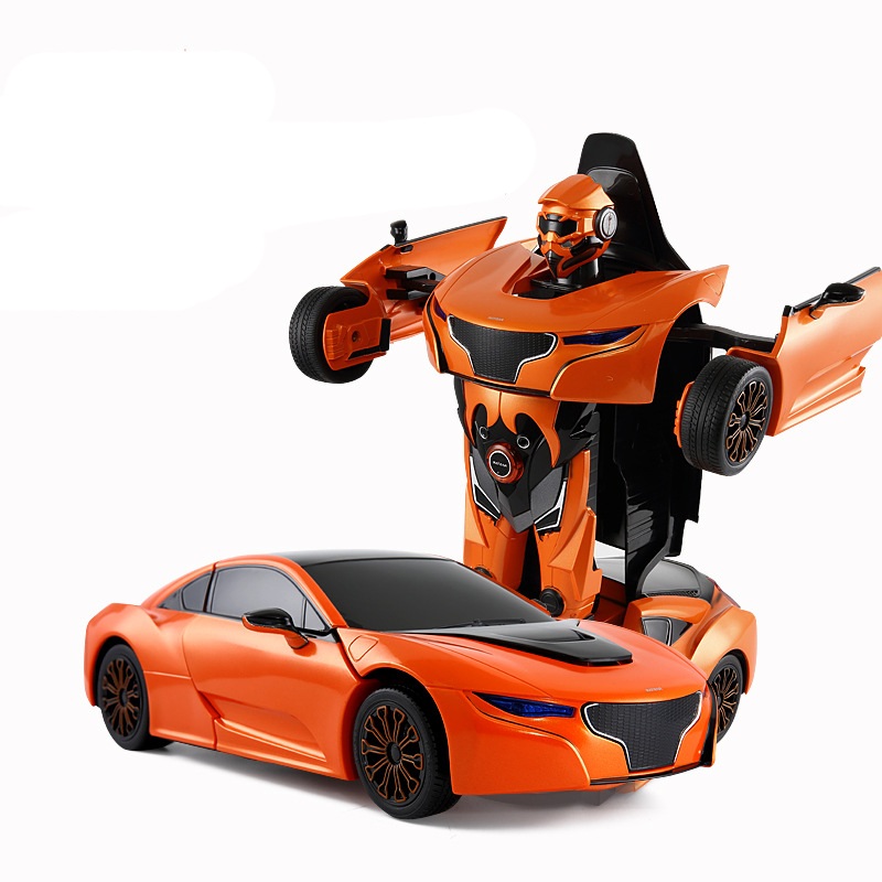 RASTAR RS BMW I8 Deformation RC Robot With Light