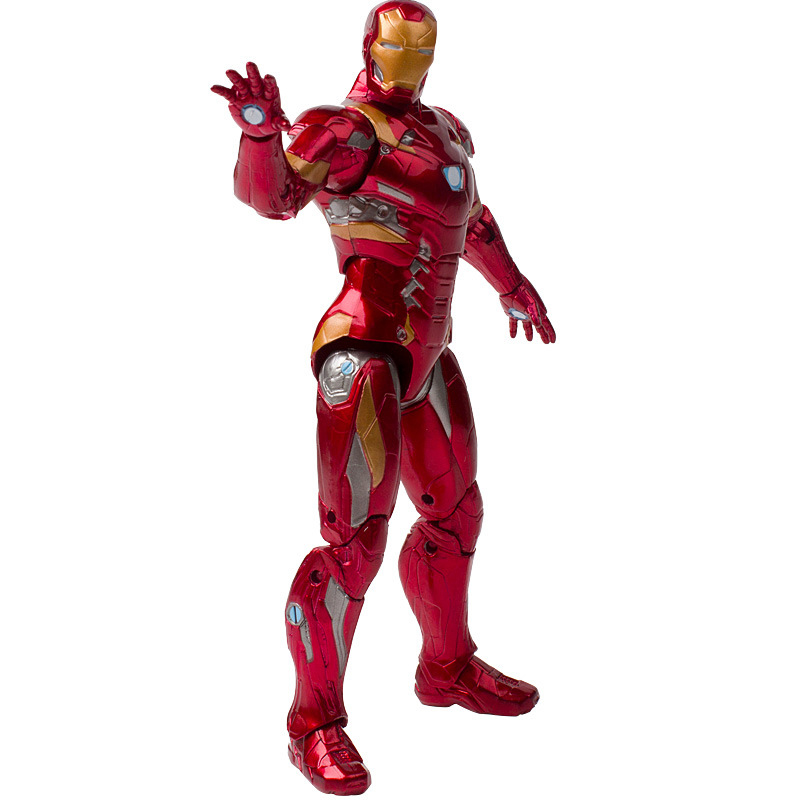 "Disney 7"" PVC Avenger Alliance Anime Series Iron Man Model Toy"
