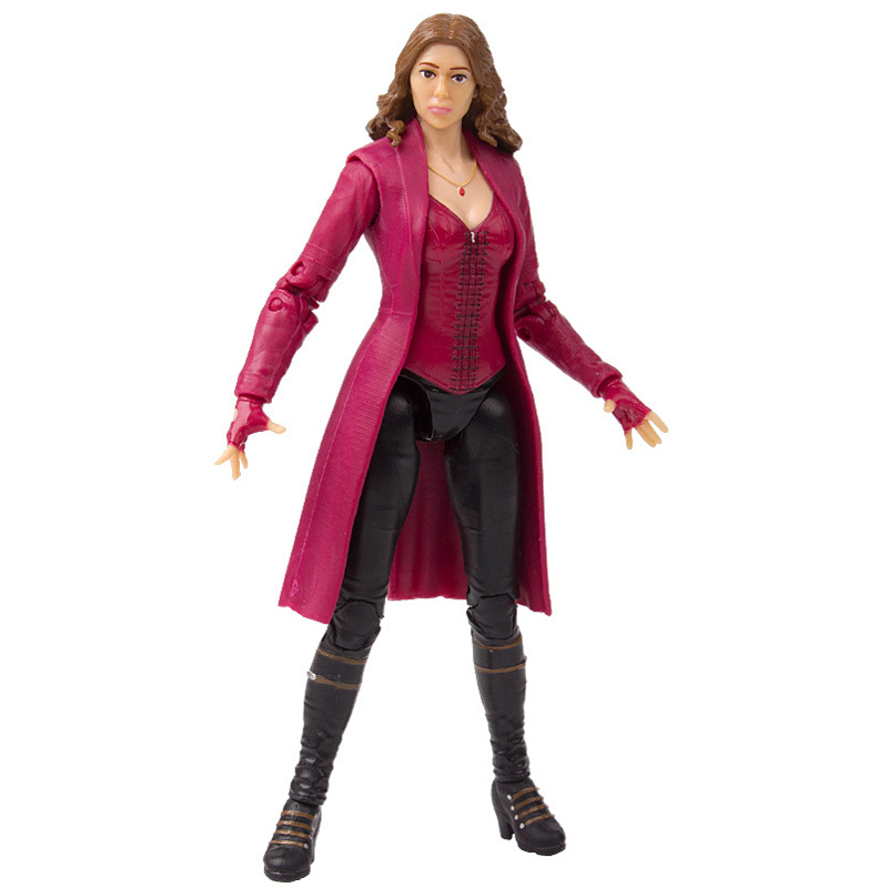 "Disney 7"" PVC Avenger Alliance Anime Series Red Witch Model Toy"