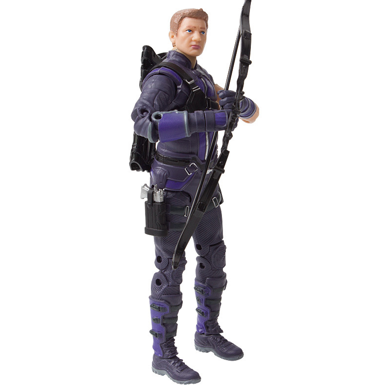 "Disney 7"" PVC Avenger Alliance Anime Series Hawkeye Model Toy"