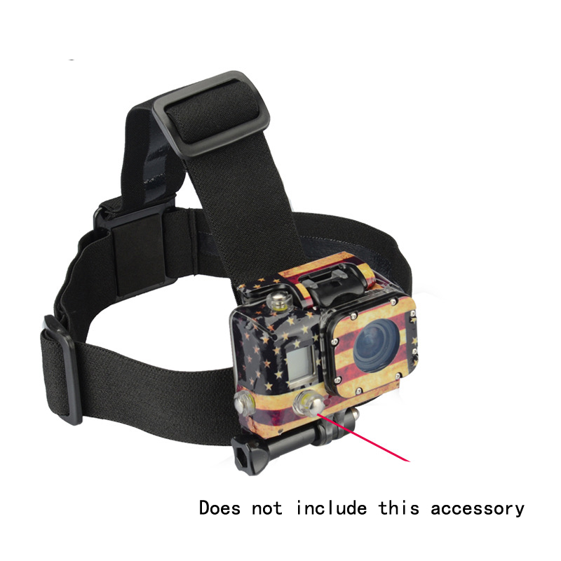 Adjustable Vented Helmet Strap Mount Strap Head strap for Camera Gopro HD Hero 1/2/3/3+/4 Camcorder Brand New