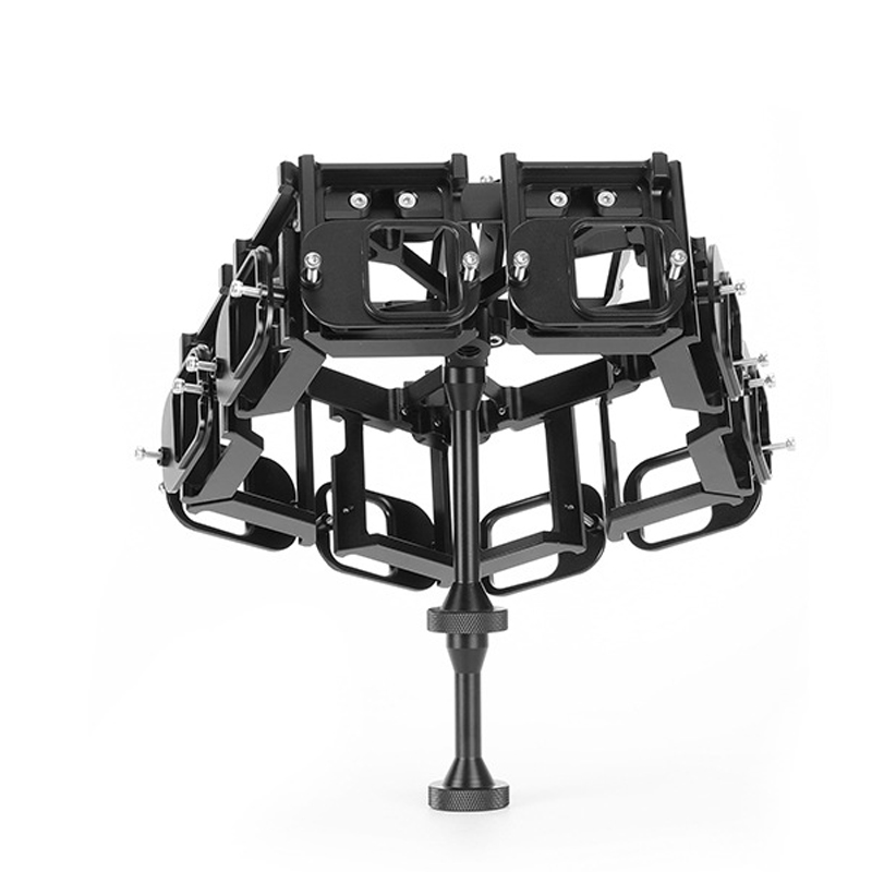 G5F12-3D GoPro5 Accessories VR3D Panoramic Bracket 12 in 1 Aluminum Alloy Case Protective Cage