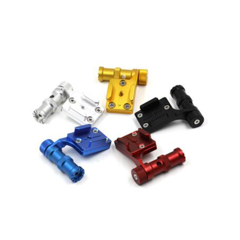CNC Aluminum Bicycle Stand Mount Bracket Base Holder Adapter For Gopro Hero4/5 Xiaomi Yi Sport Camera