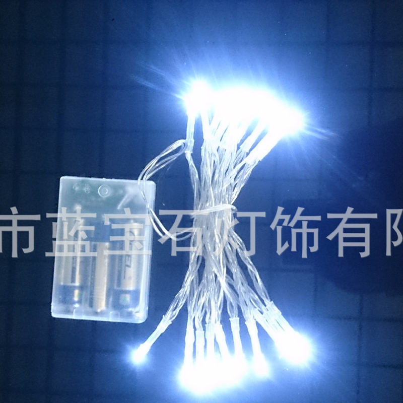 IP43 Led String Lights Battery Outdoor Copper Wire Christmas Festival Wedding Party Decoration